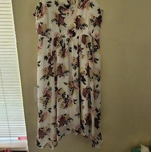 Handkerchief A line summer dress